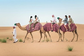 Morning Desert Safari Dubai with Dune Bashing and Sand Boarding