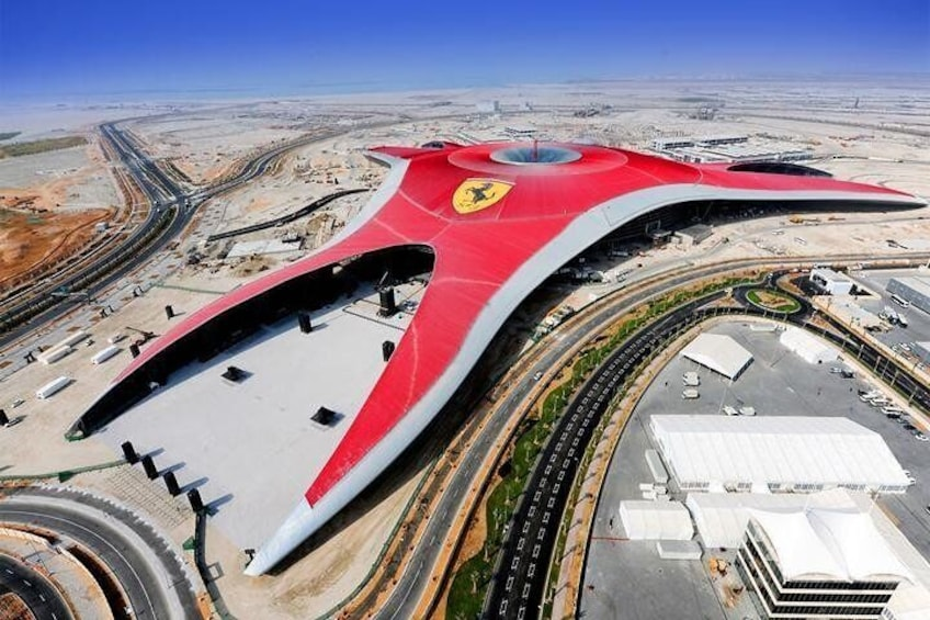 Abu Dhabi City Tour and Ferrari World Ticket