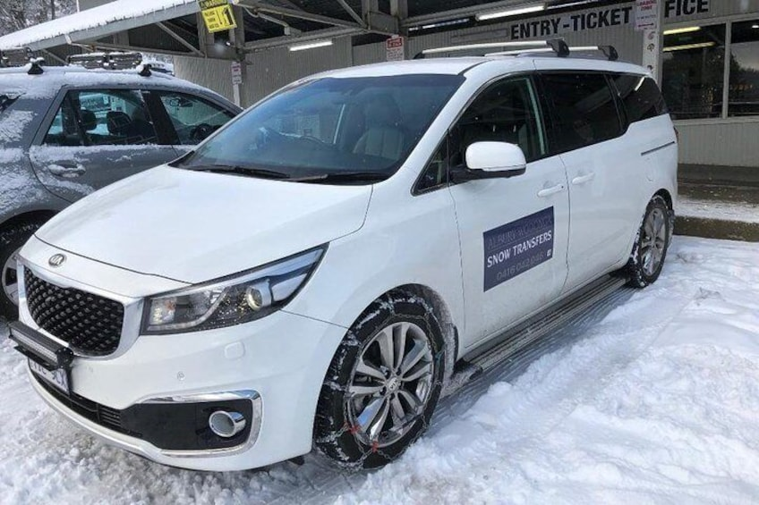 Albury Wodonga Snow Transfers, Family run, Safe and Affordable