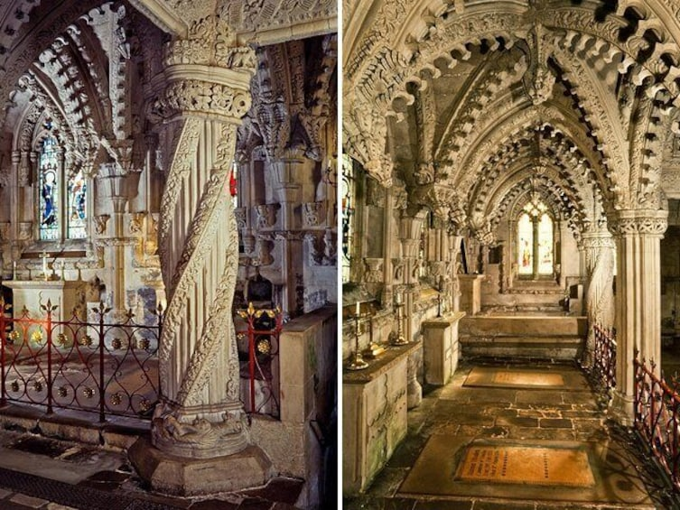 Rosslyn Chapel stonework