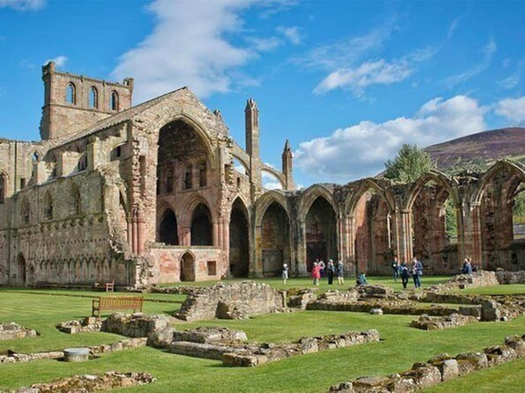 Show item 8 of 8. Melrose Abbey