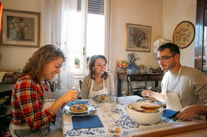 Dining experience at a Cesarina's home in Parma