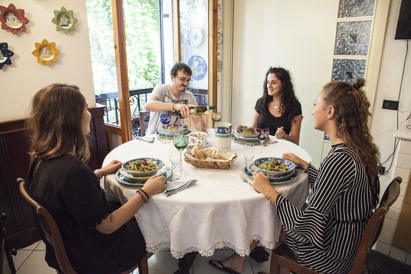 Dining experience at a Cesarina's home in Lucca