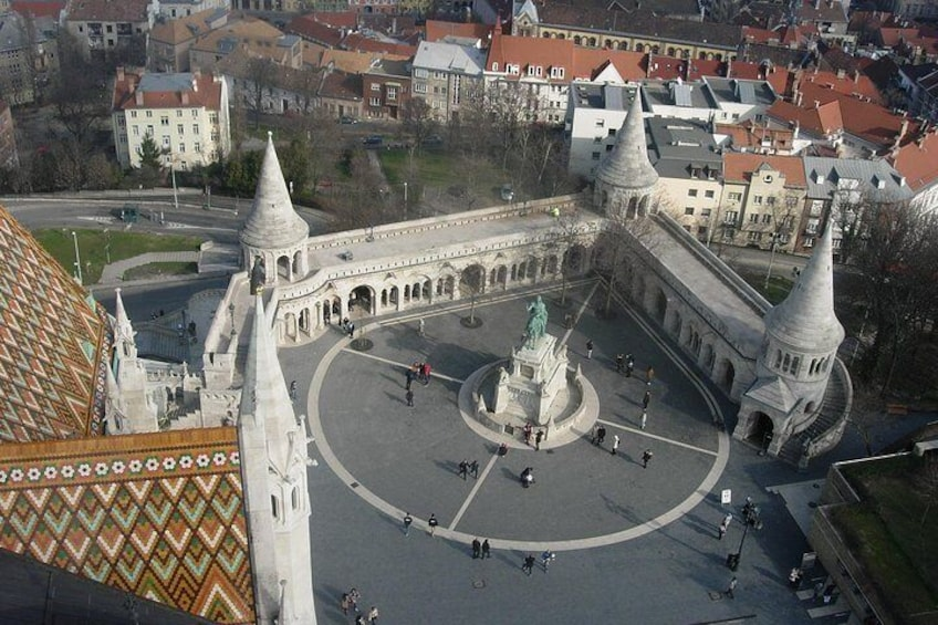 View from the Belltower of the Matthias Church