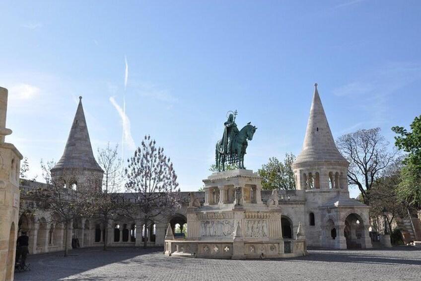 Statue of Saint Stephen
