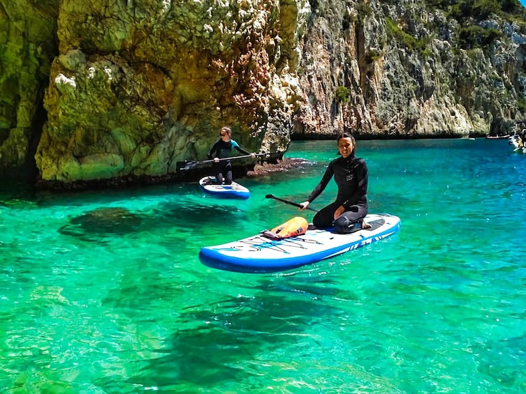Show item 2 of 5. Paddle Surf and Snorkel in the Sea Lion Cave