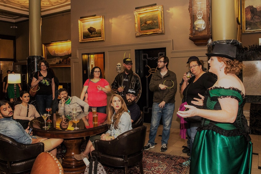Show item 4 of 10. Charlotte Haunted Pub Walking Tour
