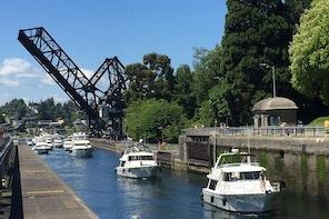 Seattle Ballard Locks, Gas Works Park and Houseboats Tour