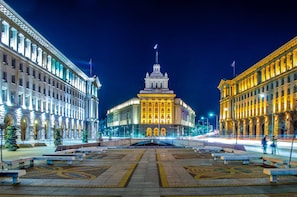 Sofia Private Evening Tour with Folklore Dinner