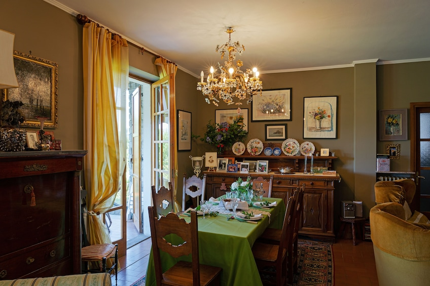 Show item 2 of 6. Dining experience at a Cesarina's home in Lake Maggiore