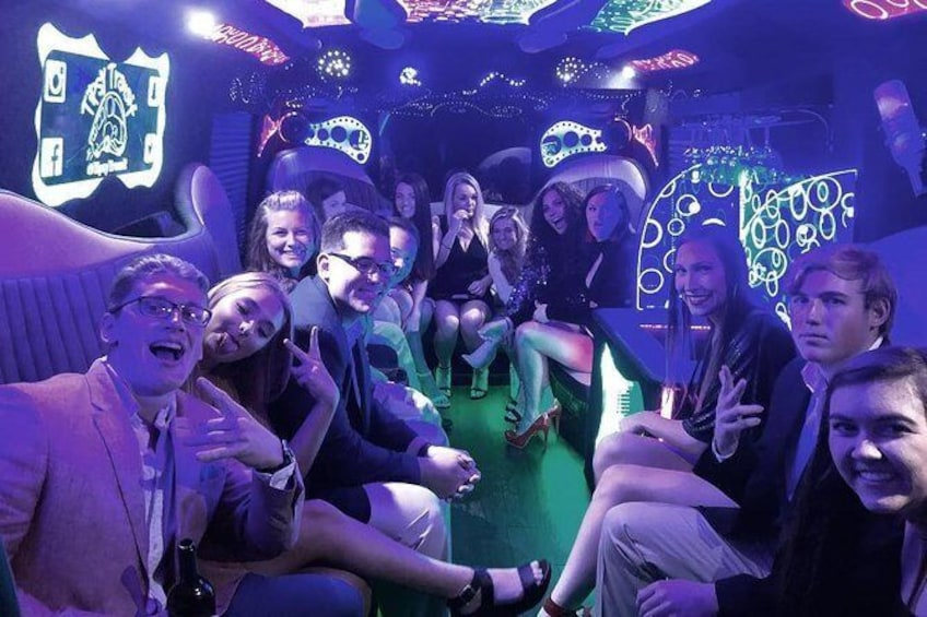 Show item 3 of 7. Party Bus