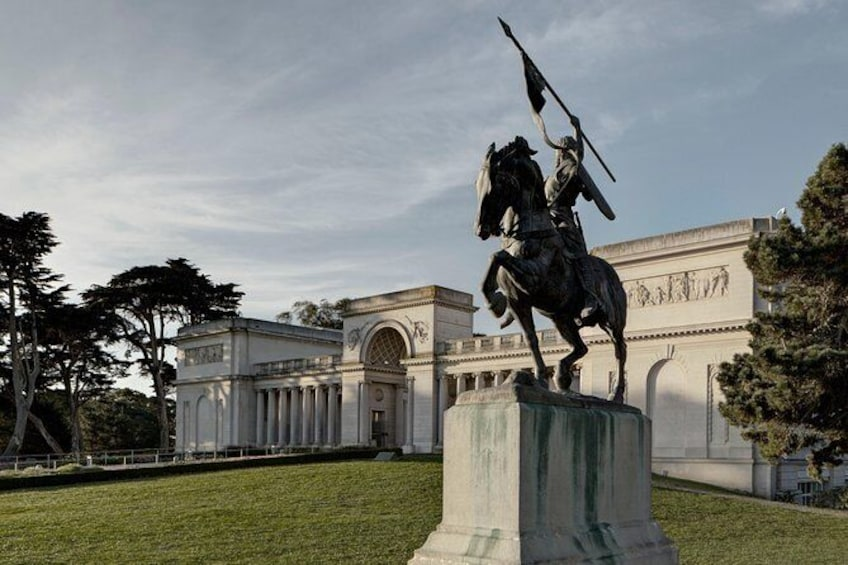 Show item 1 of 8. Skip the Line: Legion of Honor Museum General Admission Ticket