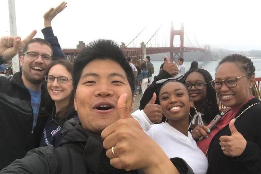 Golden Gate Bridge Walking Tour