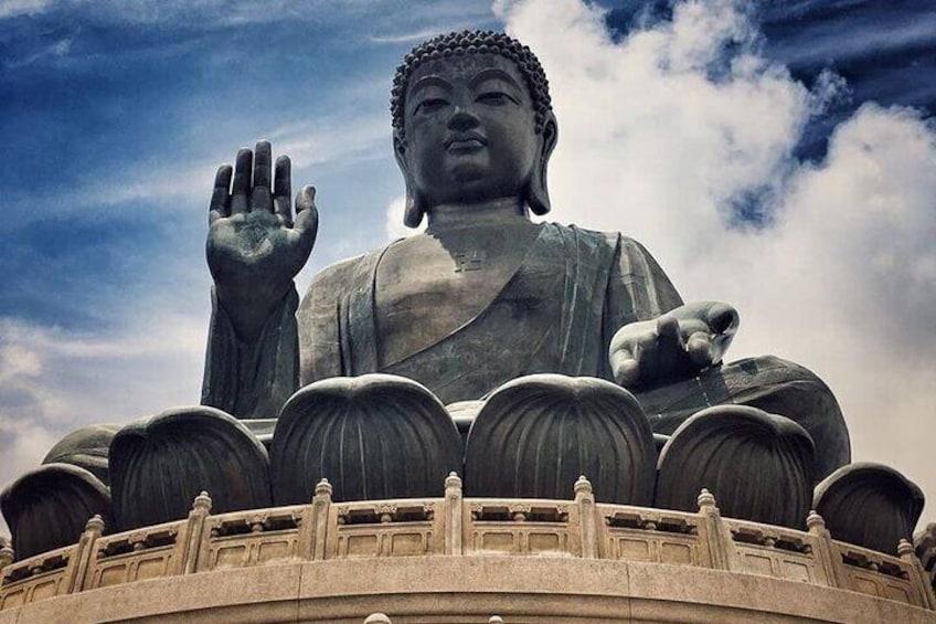 Show item 5 of 7. Tan Tian Buddha