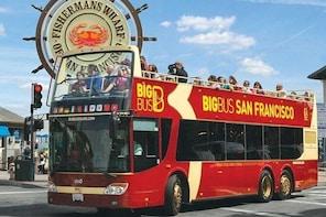San Francisco Hop on Hop off Open Top Bus Tour with Sausalito Tour - Live G...