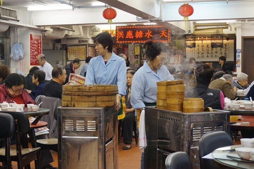 Traditional dim sum experience