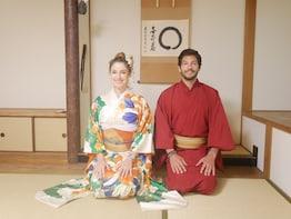 Tea ceremony and Kimono in Miyajima