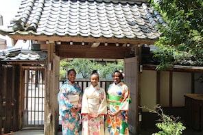 Experience Tea Ceremony, Calligraphy and Kimono