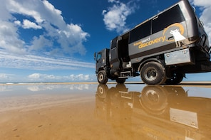 Fraser Island 4WD Warrior Day Tour departing Rainbow Beach
