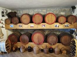 Wine tasting and Montenegrin plate at Skadar lake region