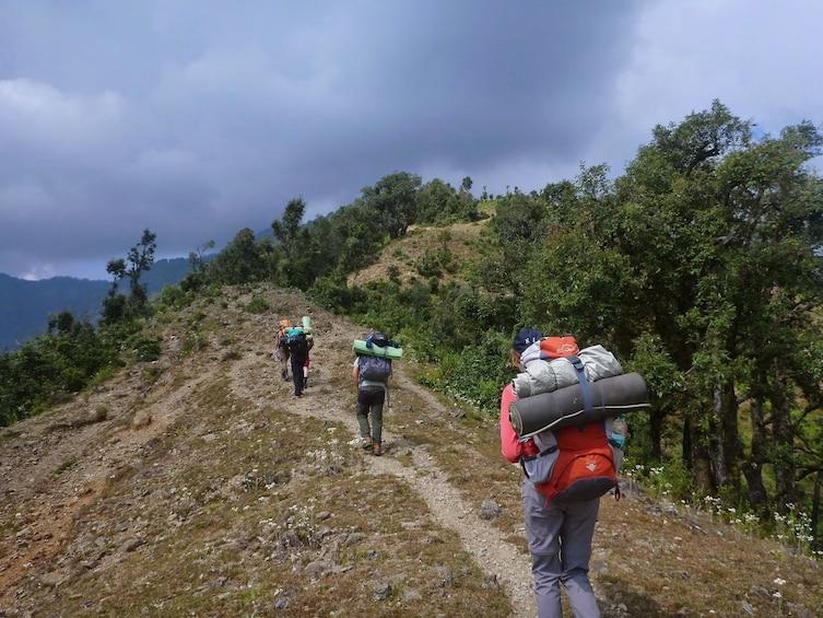 Show item 3 of 4. Himalaya Nag Tibba trek tour from Delhi