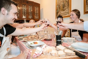 Dining experience at a local's home in Gubbio
