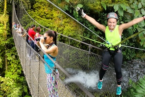Canyoning and Hanging Bridges at Mistico Park