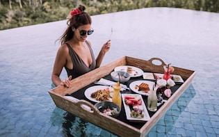 Floating Pool Breakfast or Brunch In Ubud Rainforest