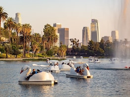 Echo Park Swan Boats