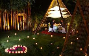 Candlelight Dinner in Ubud Garden