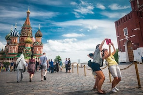 Moscow Intro - all must visit sights in 1 day!