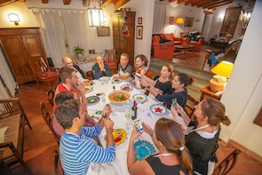 Lunch or dinner and cooking demo at a local home in Ragusa