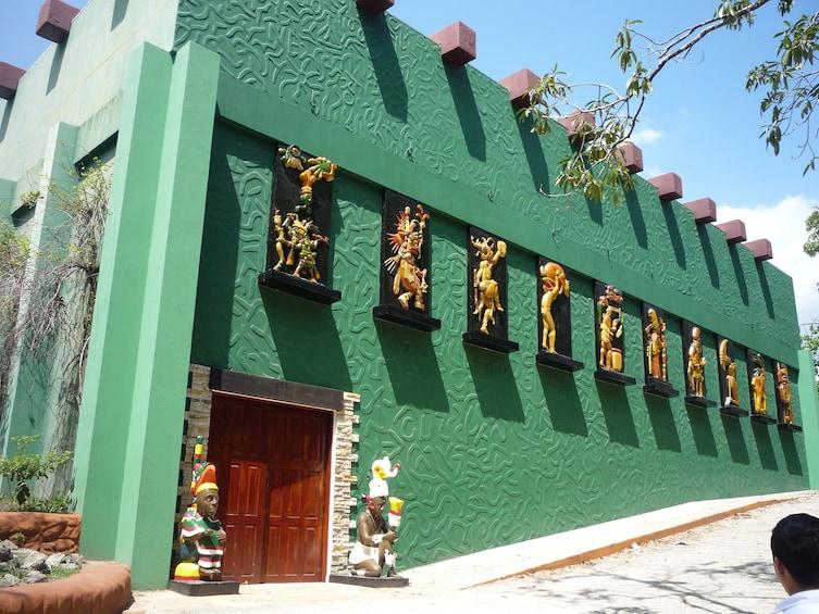 Show item 1 of 7. Cihuatan ruins & private Archeology museum Tesak