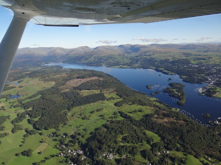 Show item 4 of 4. Yorkshire Region:Your 1-Hour Private Sightseeing Flight