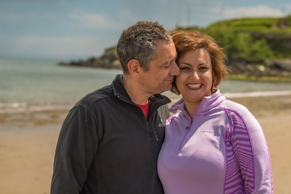 Private couple photoshoot in Bray Seaside