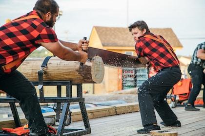 Paula Deen's Lumberjack Feud Show