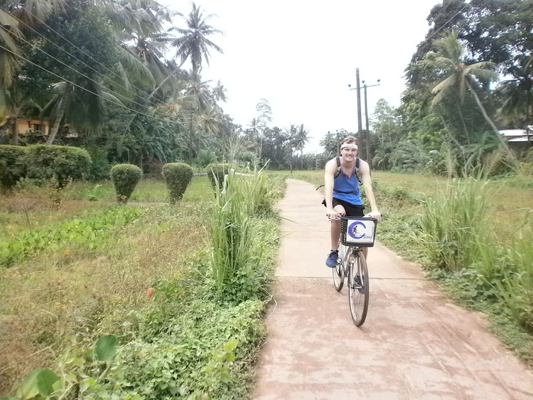 Show item 10 of 10. Half-Day Lagoon and Village Cycling Tour in Galle