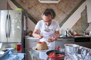 Dining experience at a Cesarina's home in Vico Equense