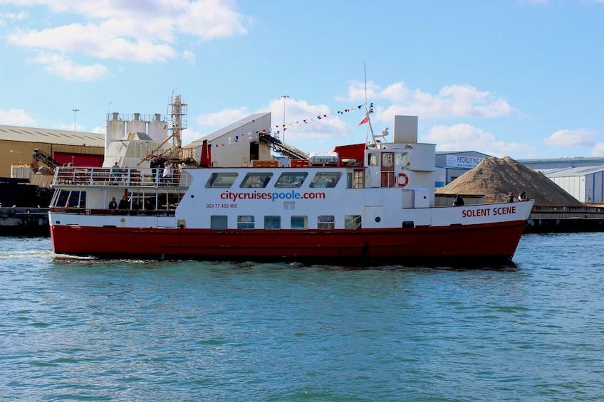 Show item 5 of 5. Jurassic Coastal Cruise to Swanage from Poole