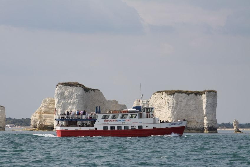 Show item 1 of 5. Jurassic Coastal Cruise to Swanage from Poole