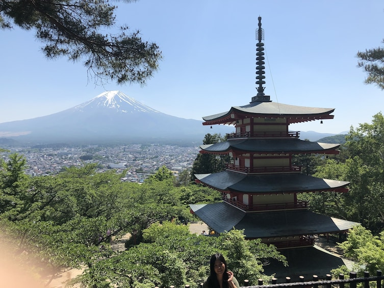 Show item 3 of 5. 12-hour Mt.Fuji & Gotemba to/from Tokyo with Private Car