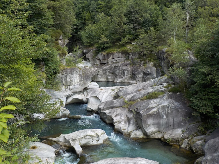 Show item 1 of 3. Guided tour to the Uriezzo Orridi, canyons of Ossola Valley