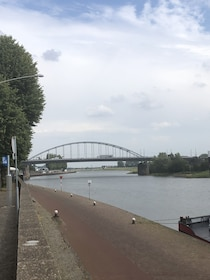 The Battle of Arnhem by train and bicycle