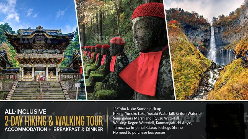 1-Night 2-Day Nikko National Park & UNESCO World Heritage