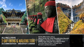 1-Night 2-Day Nikko National Park & UNESCO World Heritage