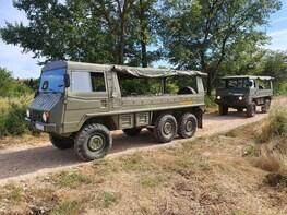 Pinzgauer Safari tour in Herzegovina