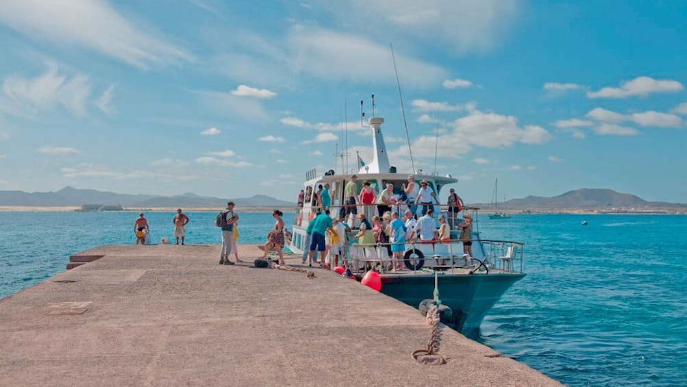 Show item 1 of 6.  Ferry to Lobos Island (Corralejo, Fuerteventura)