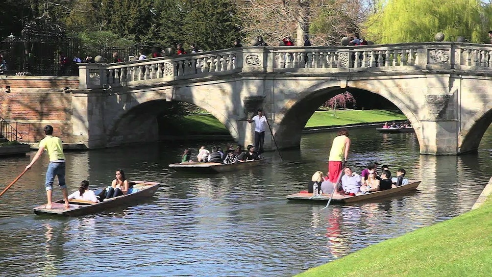 Traditional Cambridge Punting Tour