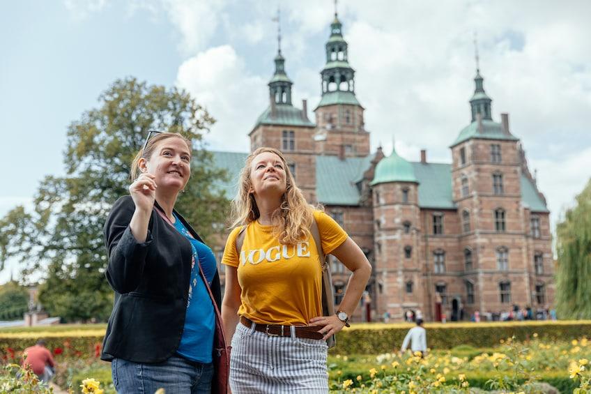 Show item 1 of 7. Tourist at Rosenborg Castle