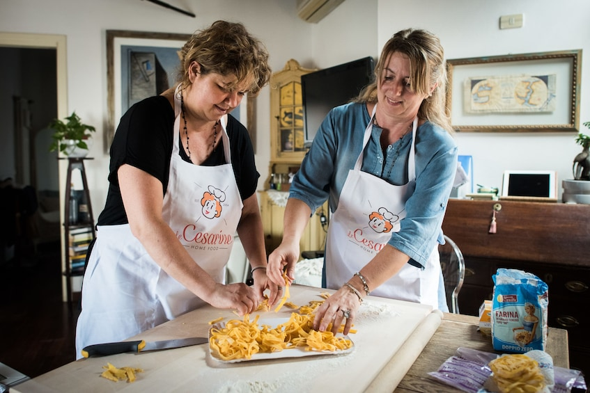 Private cooking class at a Cesarina's home - Bergamo
